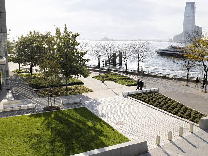 Battery Park City Architecture