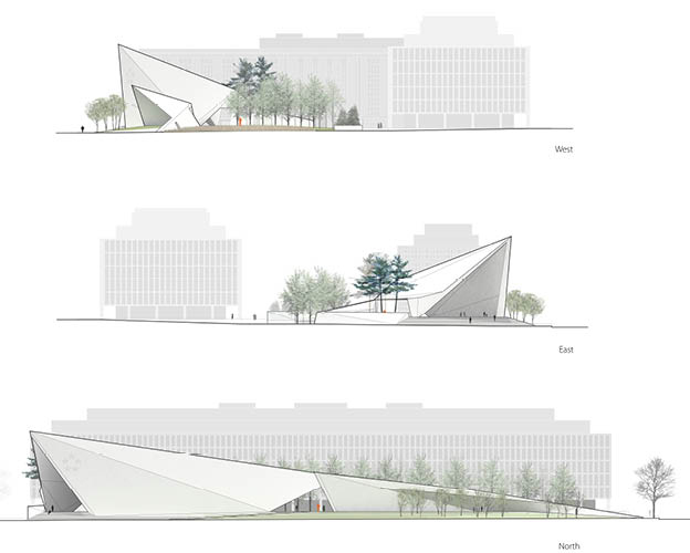 Dwight D Eisenhower Memorial Design Competition Rogers