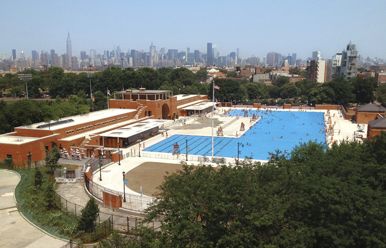 Mccarren Pool And Bathhouse Rogers Marvel Architects