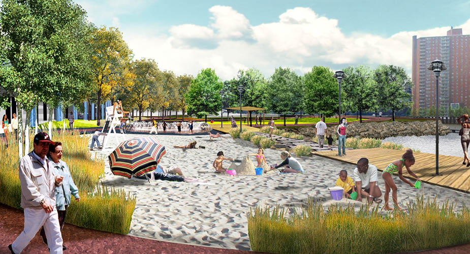 Mill Pond Park Master Plan And Schematic Design Rogers Marvel Architects